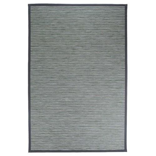 Zelený kusový koberec Honka z papierového vlákna od fínskeho výrobcu VM-Carpet