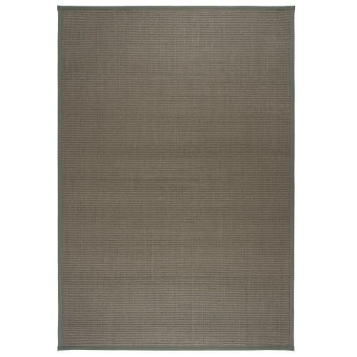 Šedý kusový koberec Sisal z přírodního sisalu od finského výrobce VM-Carpet