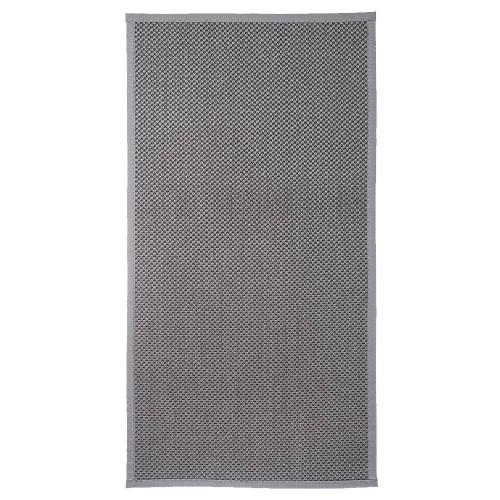 Šedý kusový koberec Panama z přírodního sisalu od finského výrobce VM-Carpet
