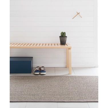 Béžový kusový koberec Panama z prírodného sisalu od fínskeho výrobcu VM-Carpet