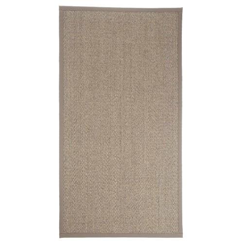 Béžový kusový koberec Barrakuda z přírodního sisalu od finského výrobce VM-Carpet
