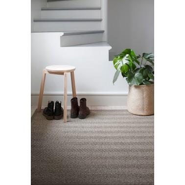 Béžový kusový koberec Barrakuda z prírodného sisalu od fínskeho výrobcu VM-Carpet