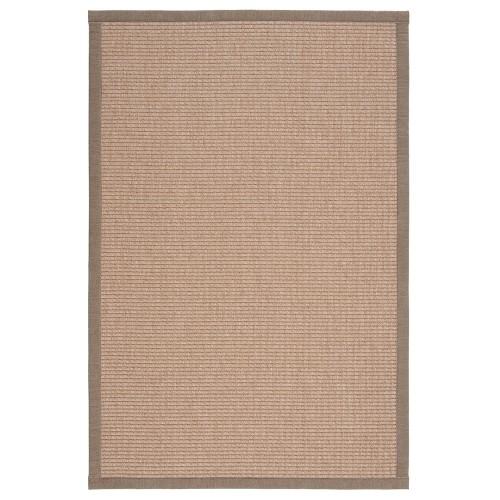 Béžový kusový koberec Tunturi fínskej značky VM-Carpet z vlny a papierového vlákna