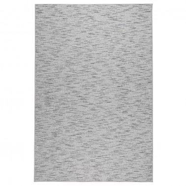 Sivý kusový koberec Tuohi tkaný z vlny a papierového vlákna od fínskeho výrobcu VM-Carpet
