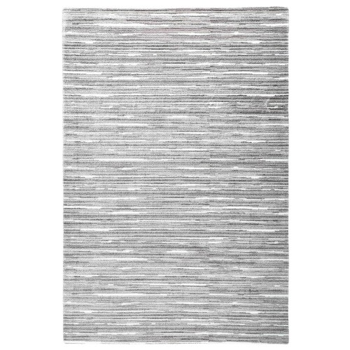 Sivý kusový shaggy koberec Aurea od fínskeho výrobcu VM-Carpet