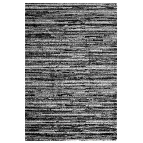 Čierny kusový shaggy koberec Aurea od fínskeho výrobcu VM-Carpet