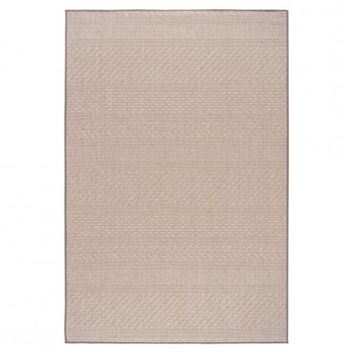 Béžový kusový koberec Matilda fínskej značky VM-Carpet z vlny a papierového vlákna