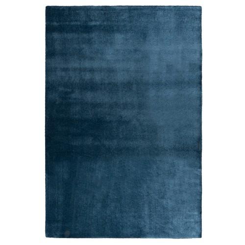 Modrý kusový shaggy koberec Satine od finského výrobce VM-Carpet