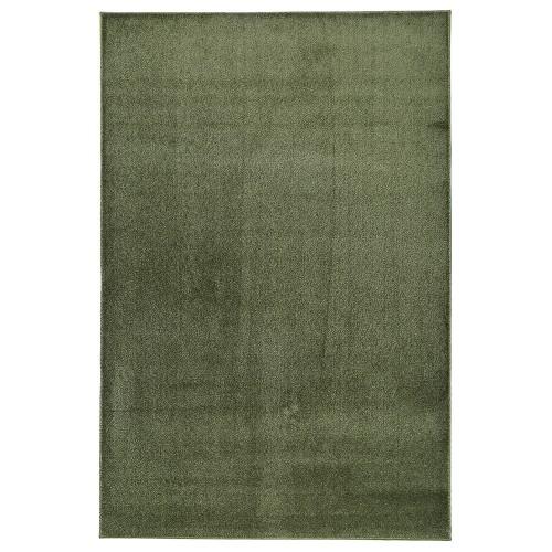 Zelený kusový shaggy koberec Satine od finského výrobce VM-Carpet