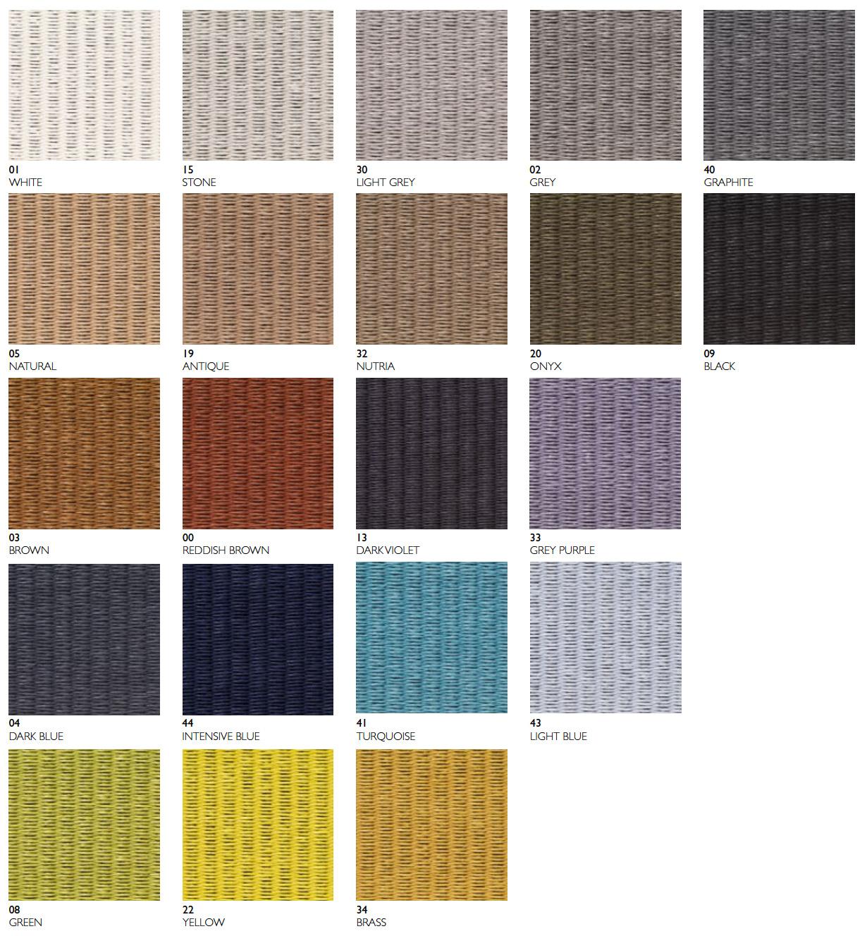 Barvy koberců Woodnotes